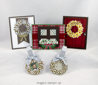 Get A Wonderful Wreath Card Class With Your Online Order!