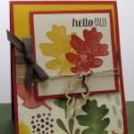 Stamping Imperfection Color Me Autumn and For All Things from Stampin' Up!