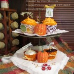 10 days of thanksgiving projects cupcake wrap free template and video