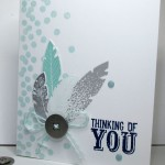 stamping imperfection need a quick thinking of you card