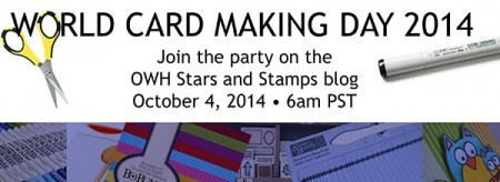 stamping imperfection world card making day