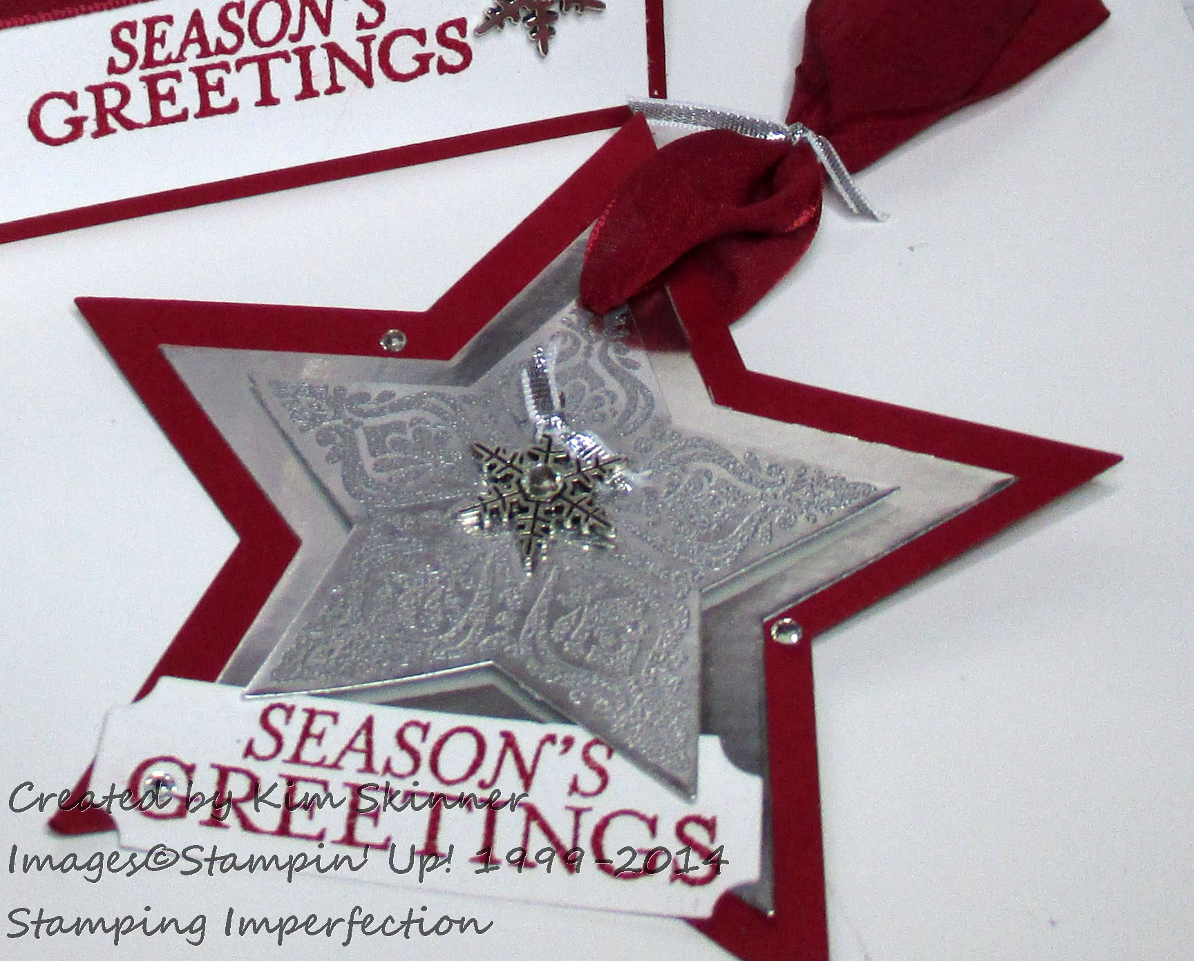 bright and beautiful foil stars stamping imperfection