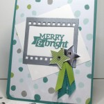 Stamping Imperfection Merry and Bright