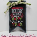 Combine 3 techniques to make great gift tags