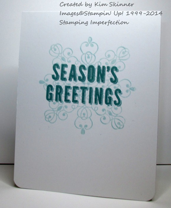 stamping imperfection trends in card making