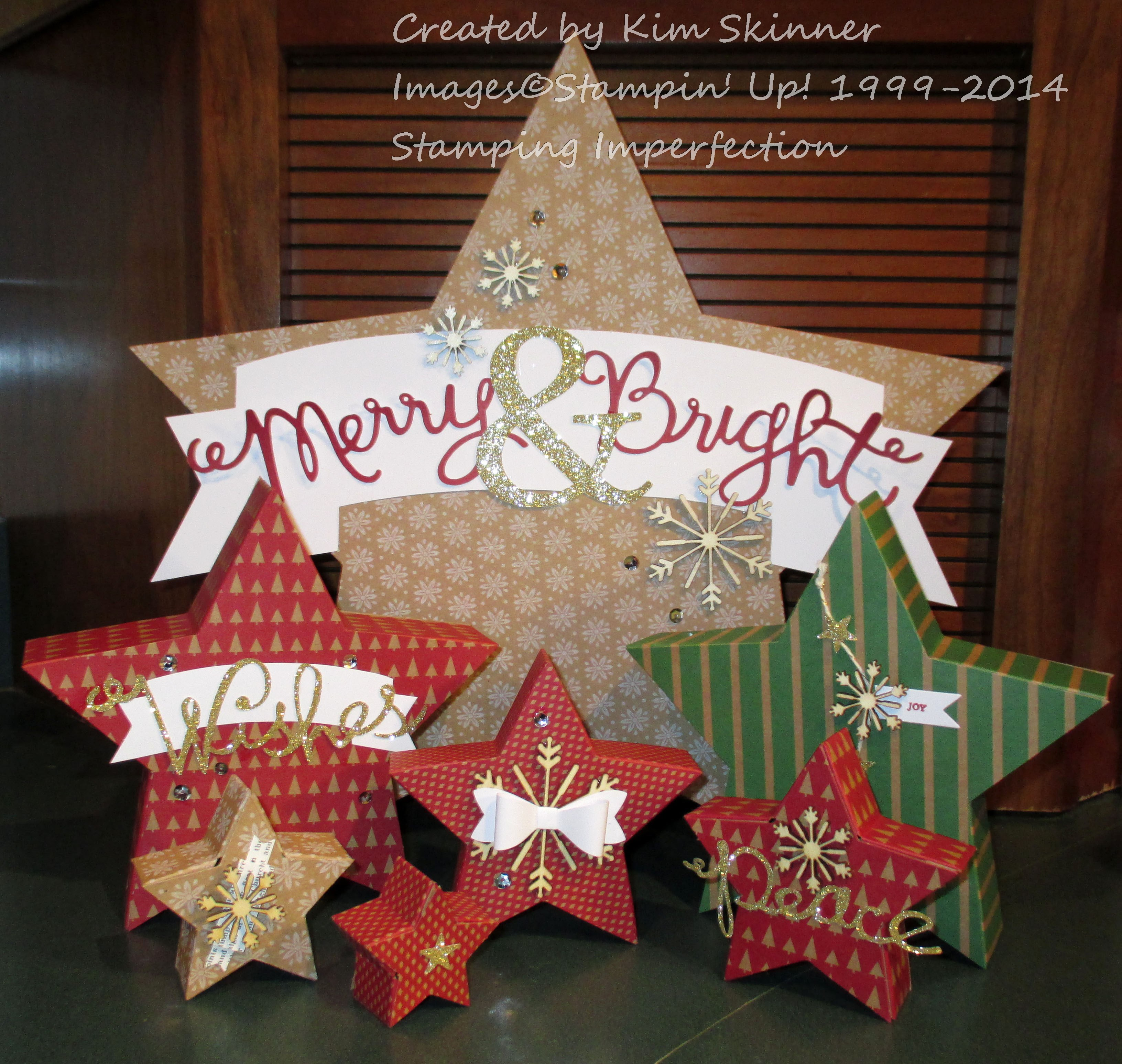 crafting with kits and kids for the holidays from stamping imperfection
