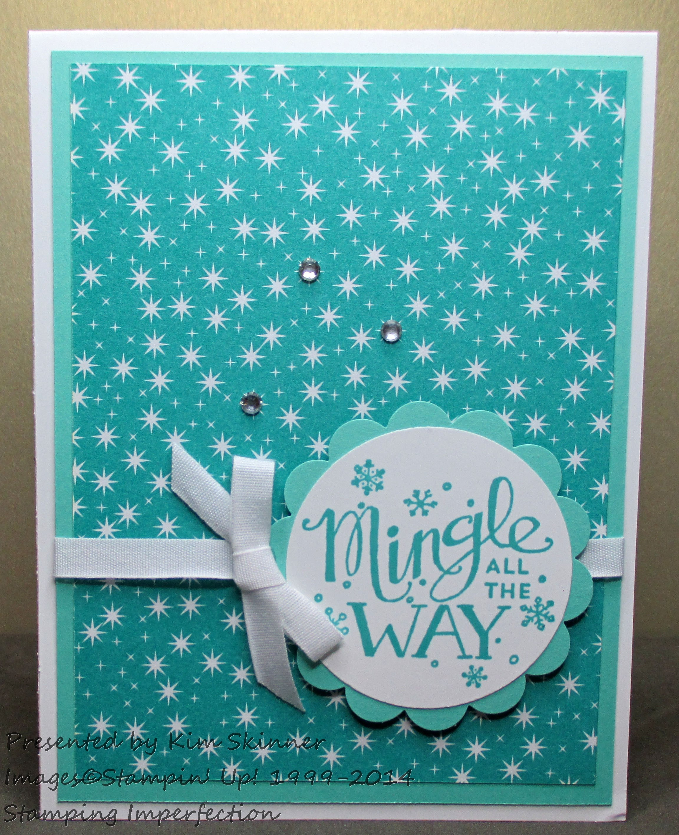 Stamping Imperfection 4 Ideas for Mingle all the way