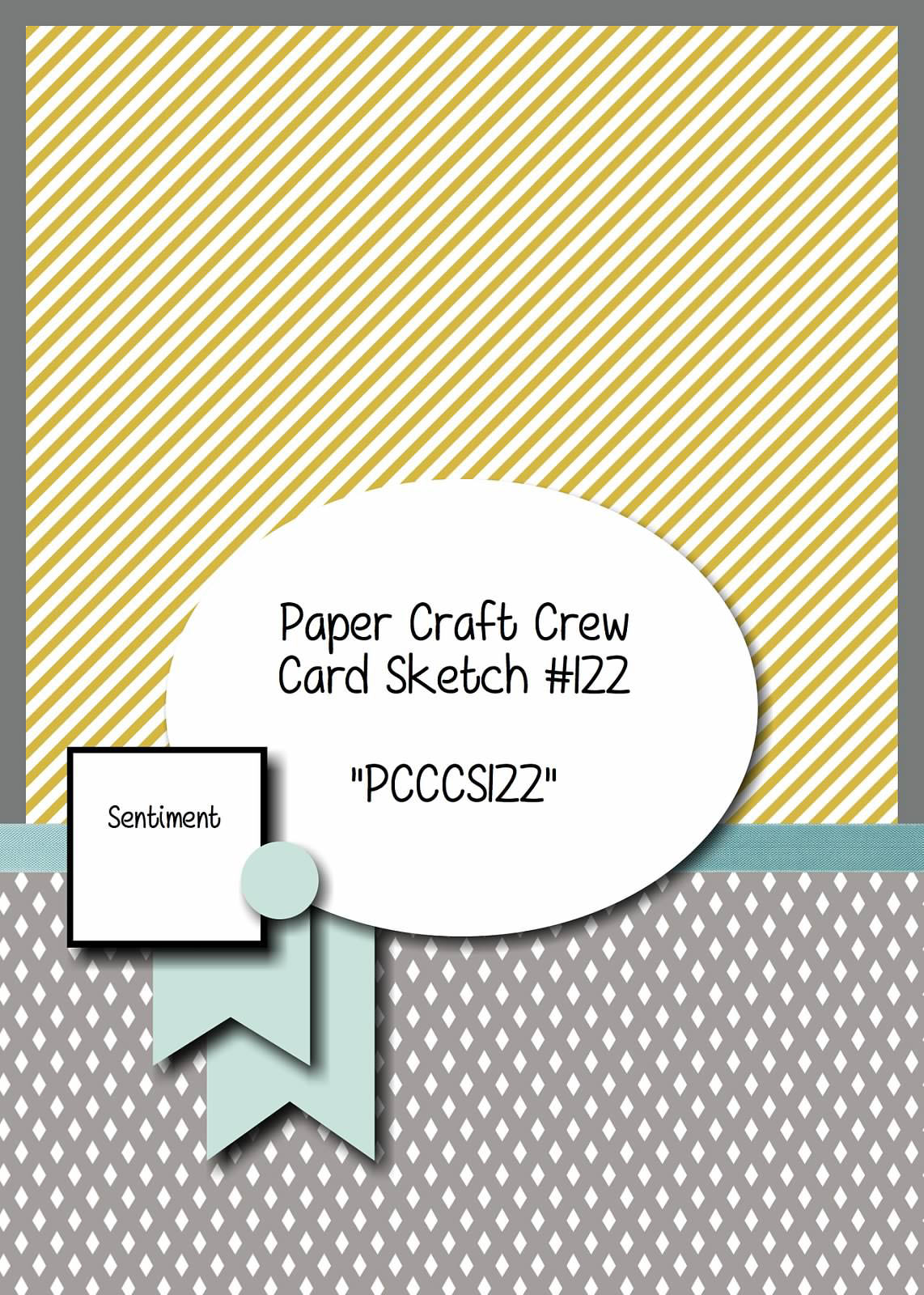 Stamping Imperfection Paper Craft Crew Sketch 122