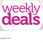 Weekly Deals:  Save 25% Through March 30!