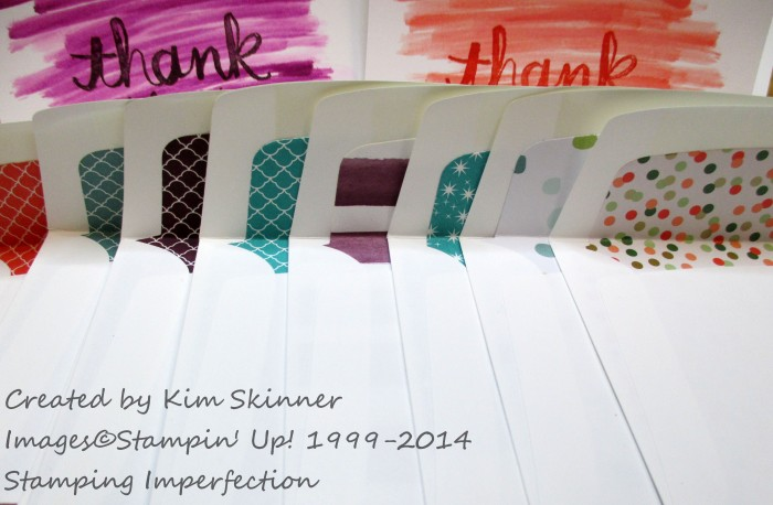 Stamping Imperfection How to use paper scraps and papers you don't love.