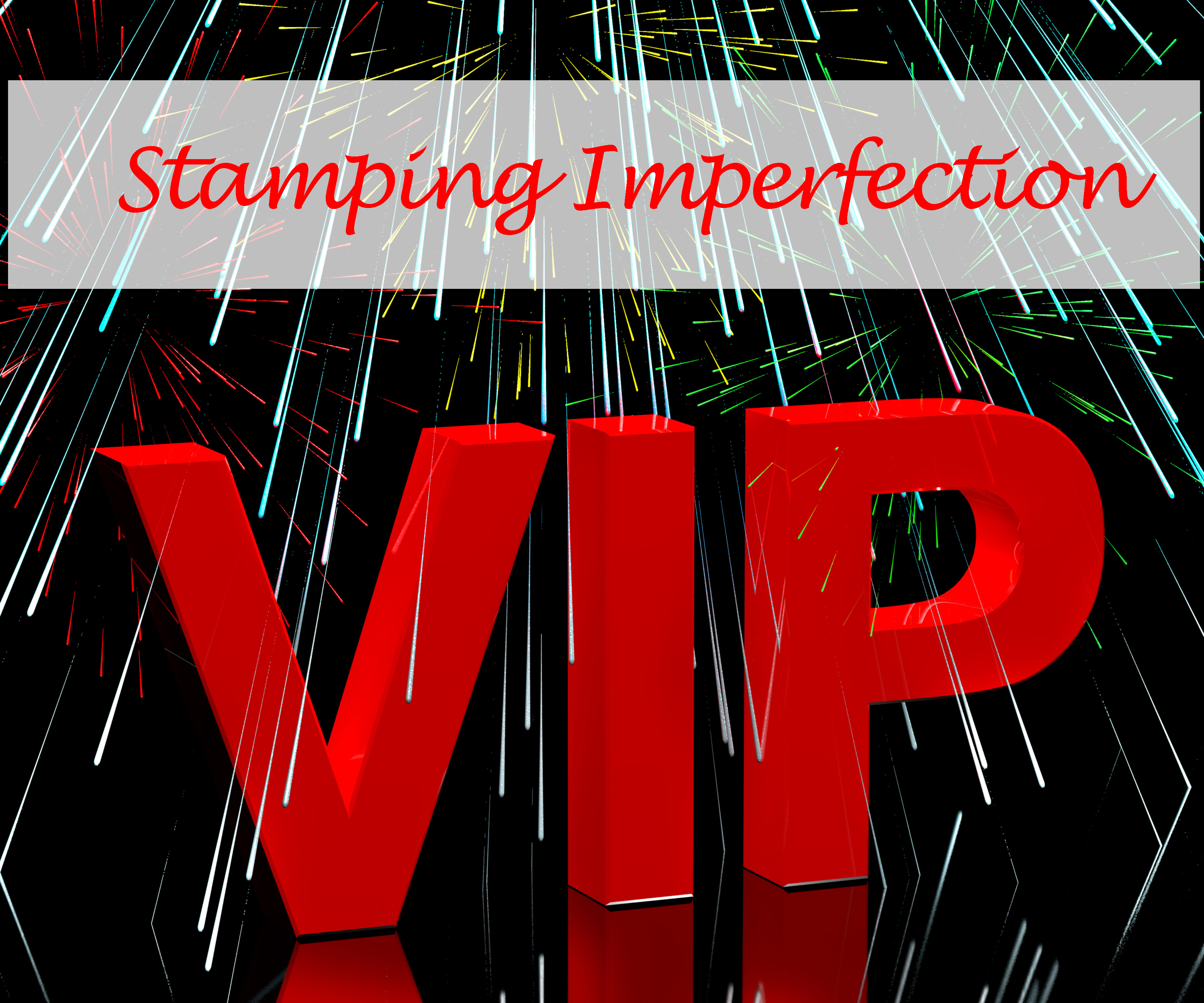 Stamping Imperfection Monthly VIP CARD Class