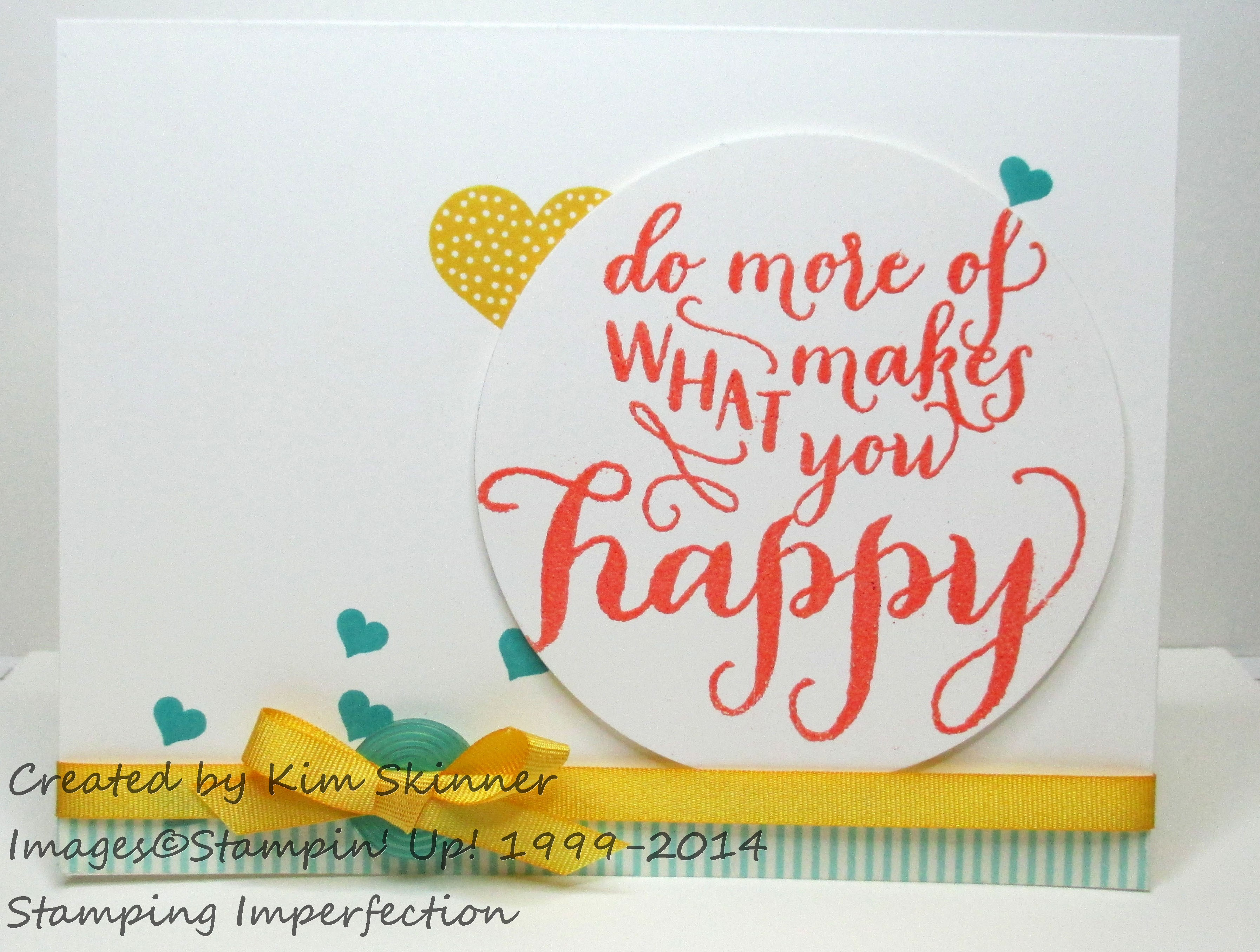 Step up your cards with Stampin' Up! embellishments