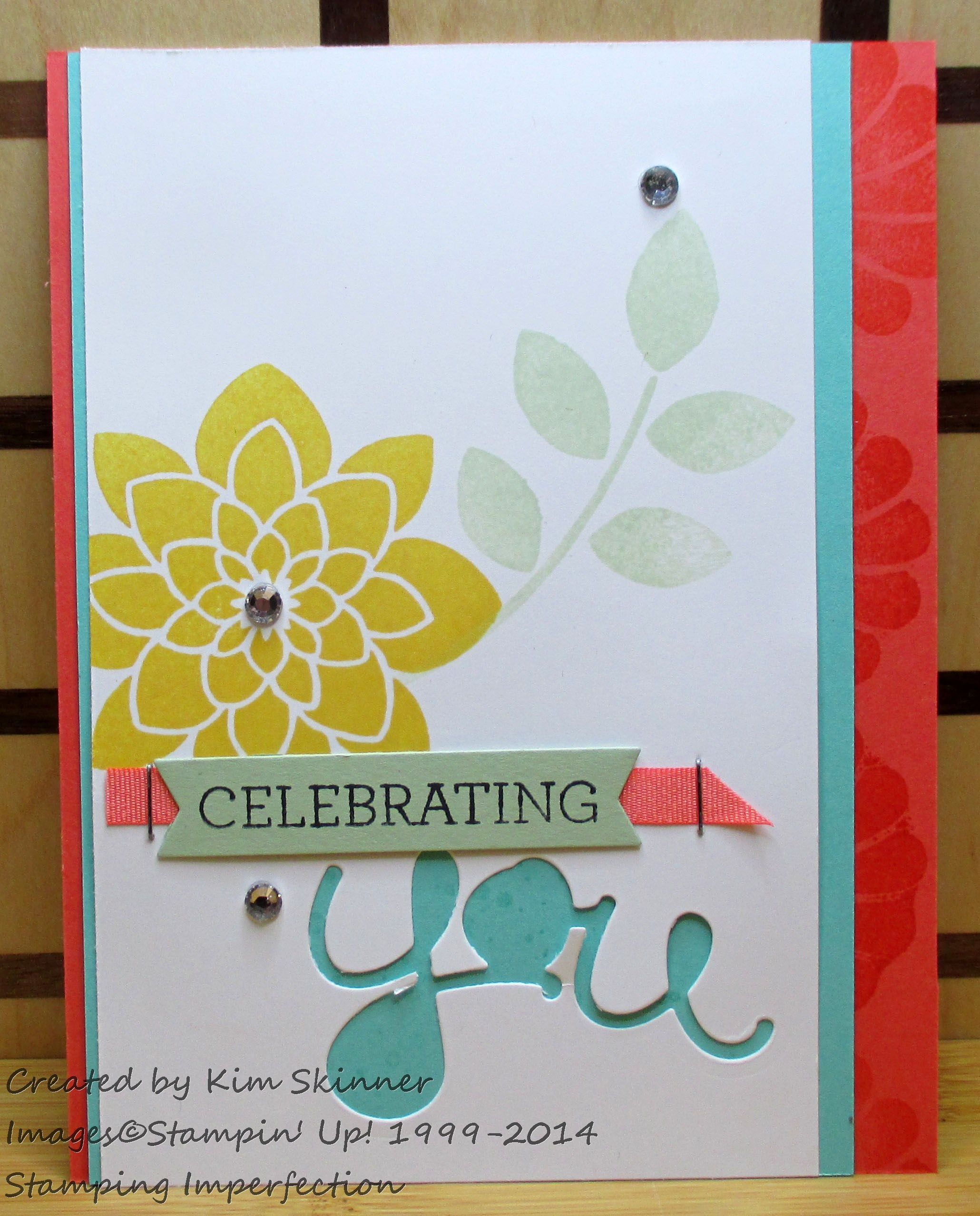 Tips on how to mass produce 20+ cards with Stamping Imperfections Celebrating You Swap Card