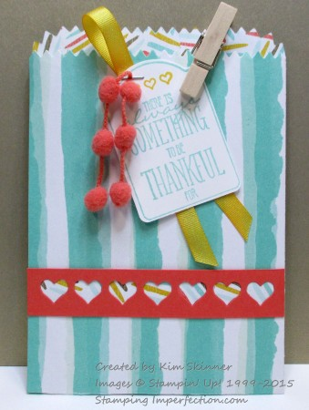 SUO blog hop treat bag and card