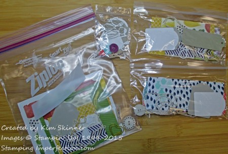 card kits from scraps