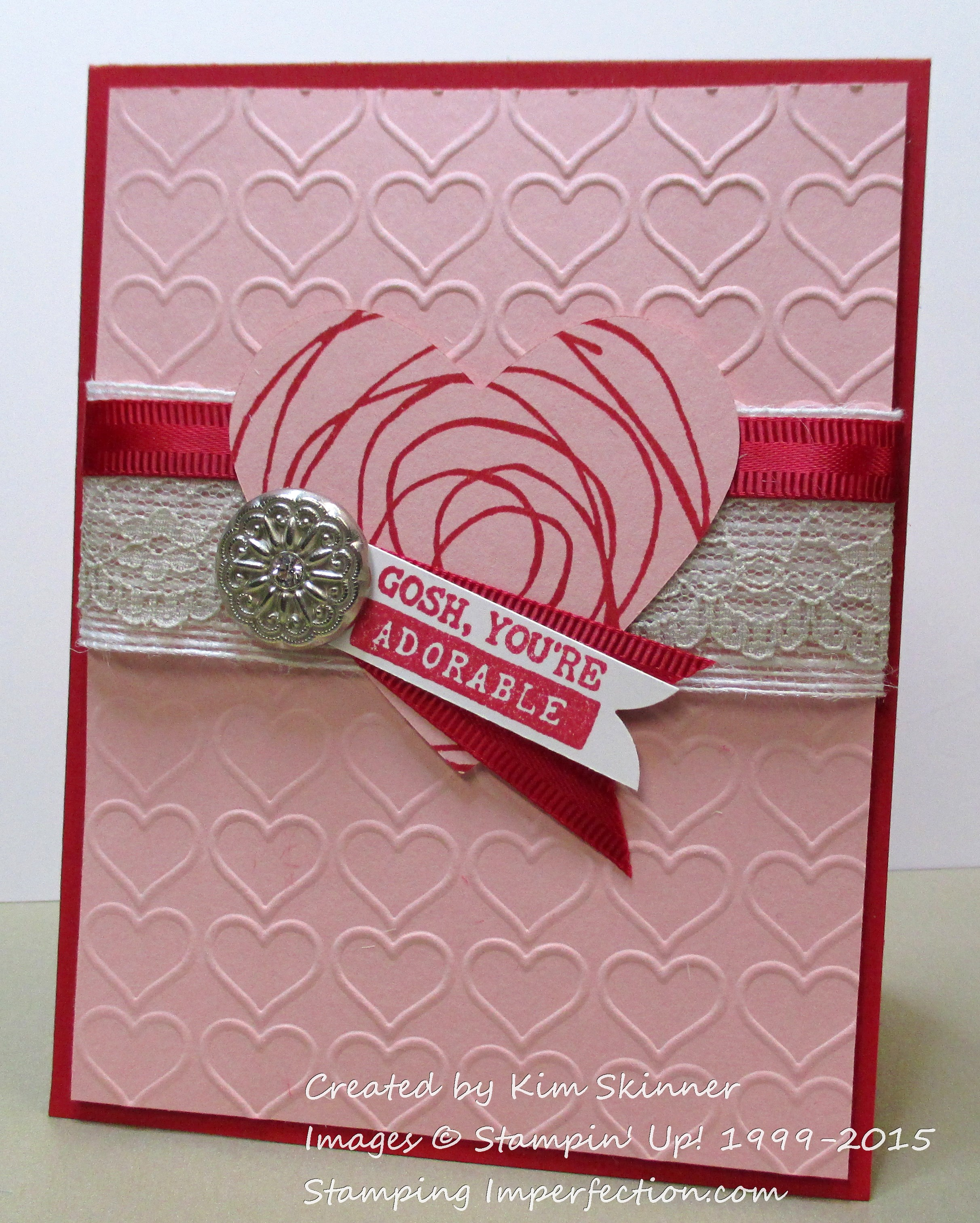 Happy Valentine's Day from Stamping Imperfection