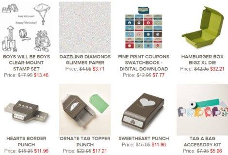 stamping imperfection weekly deals for feb.3
