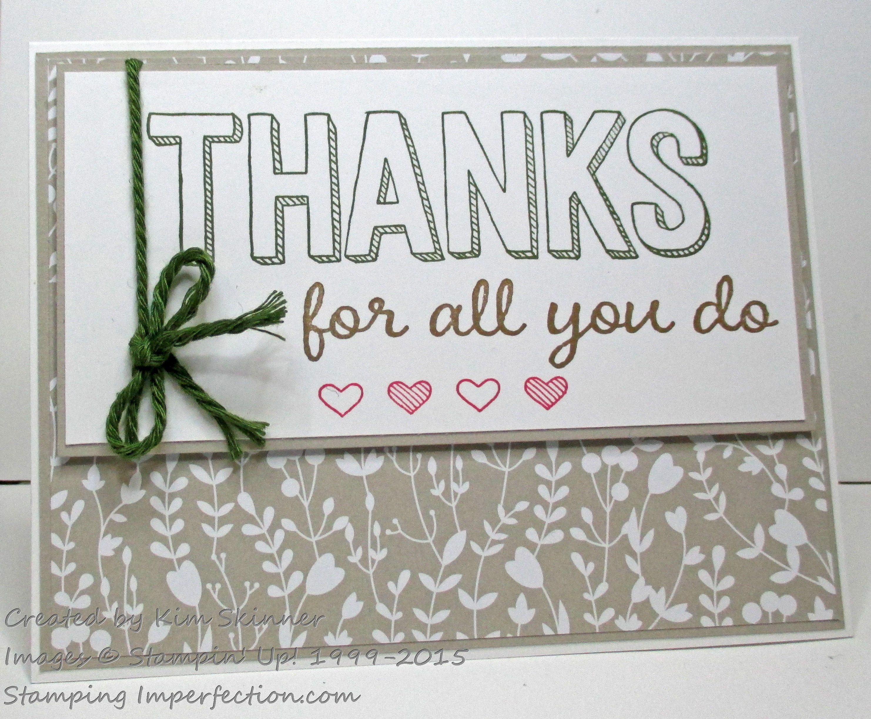 New Sale-A-Bration Items Available Until The End Of March! For All You Do with Stamping Imperfection