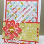 Need A Quick Card To Welcome Spring?