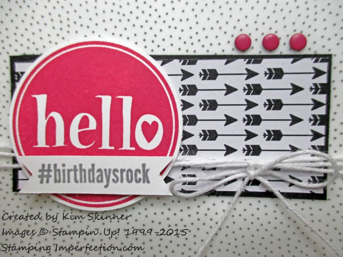 #birthdaysrock stamping imperfection