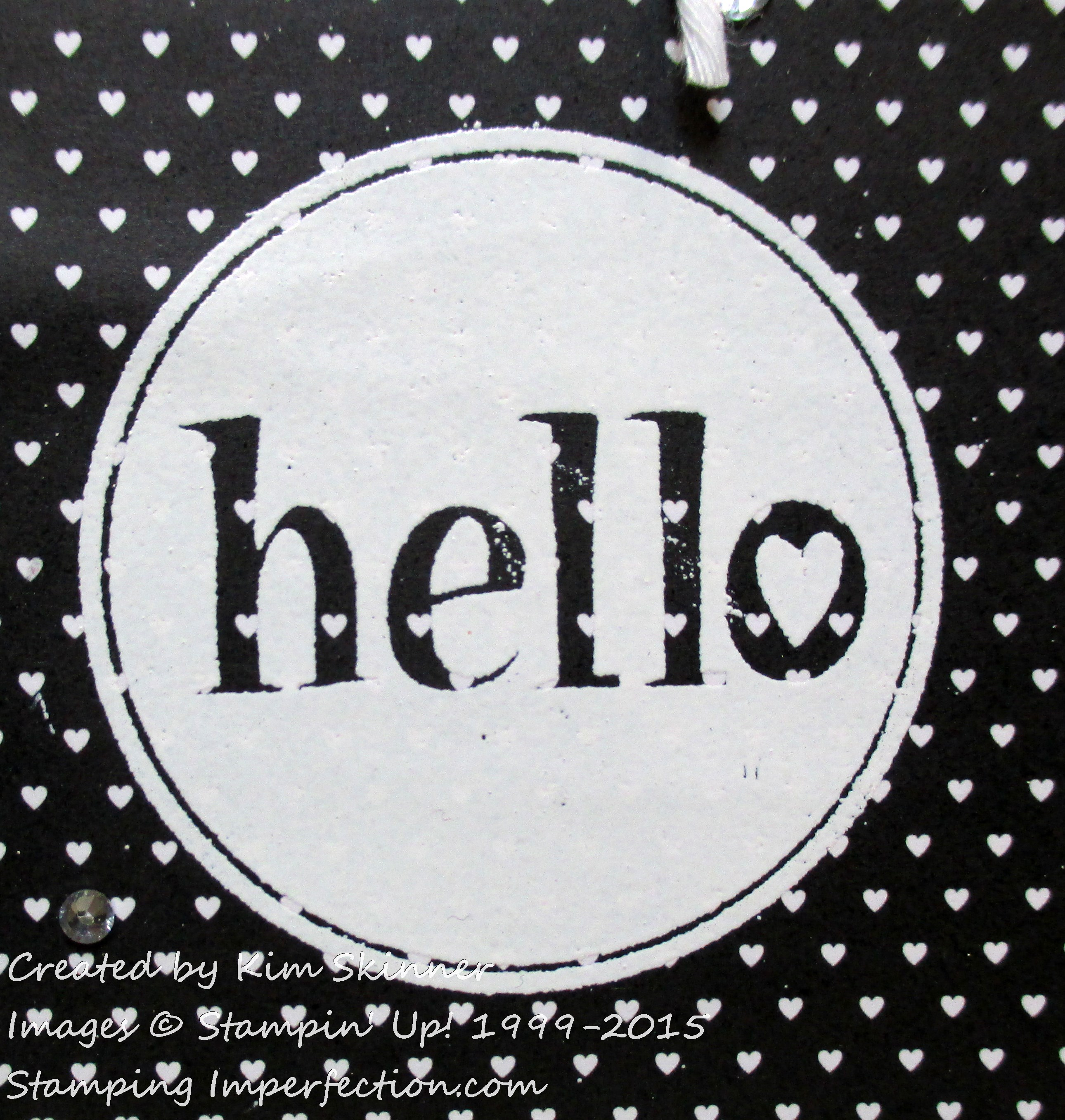 stamping imperfection retiring stamp sets #hello