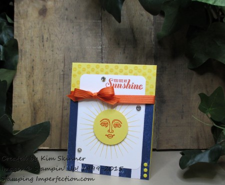 stamping imperfection create a card with a sketch