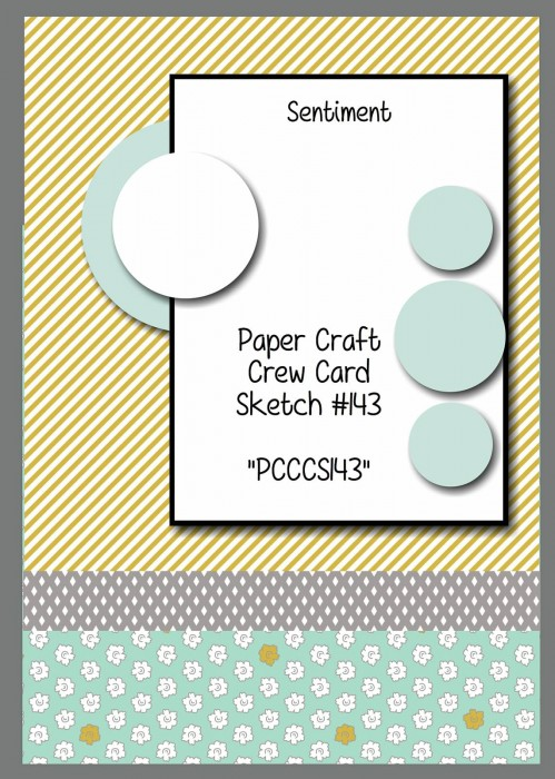 Stamping Imperfection Paper Craft Crew Sketch 143