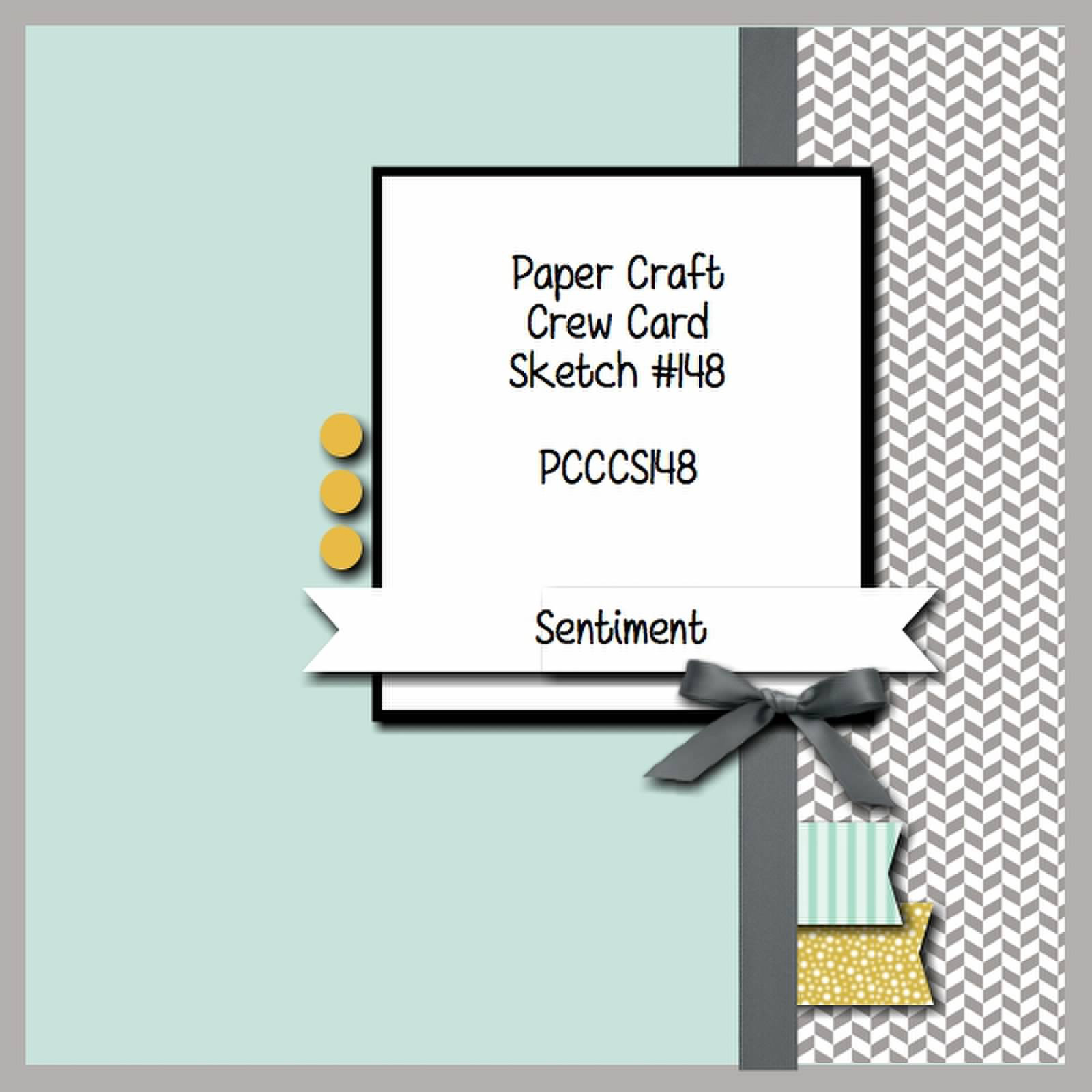 Paper Craft Crew Sketch shared by Stamping Imperfection