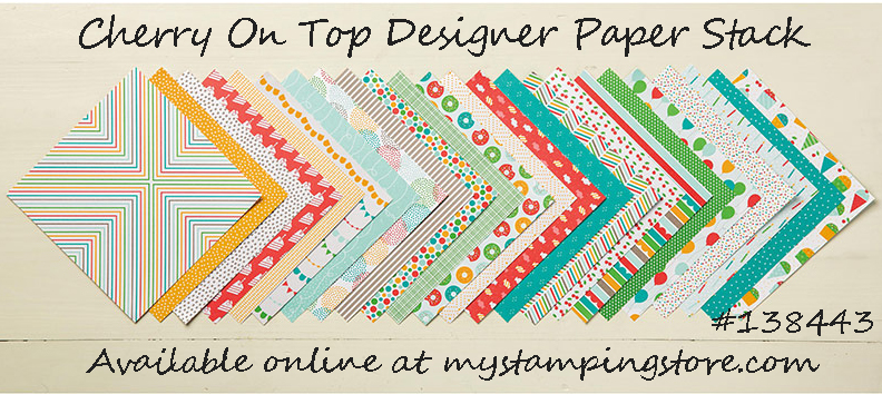 Cherry on Top Designer Series Paper