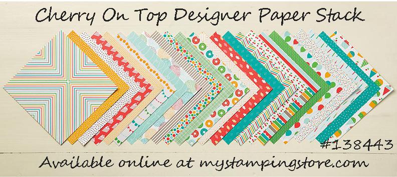 Cherry on Top Designer Series Paper