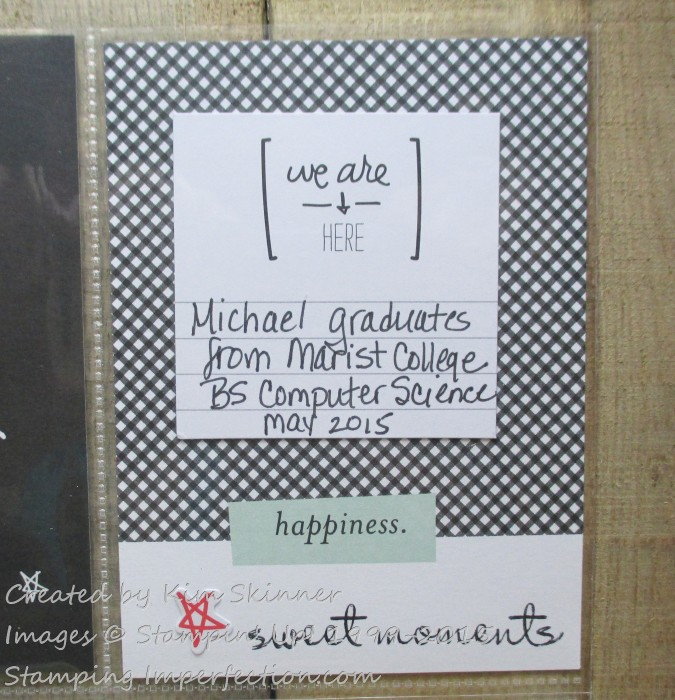 Stampin' Up! Project Life with Stamping Imperfection