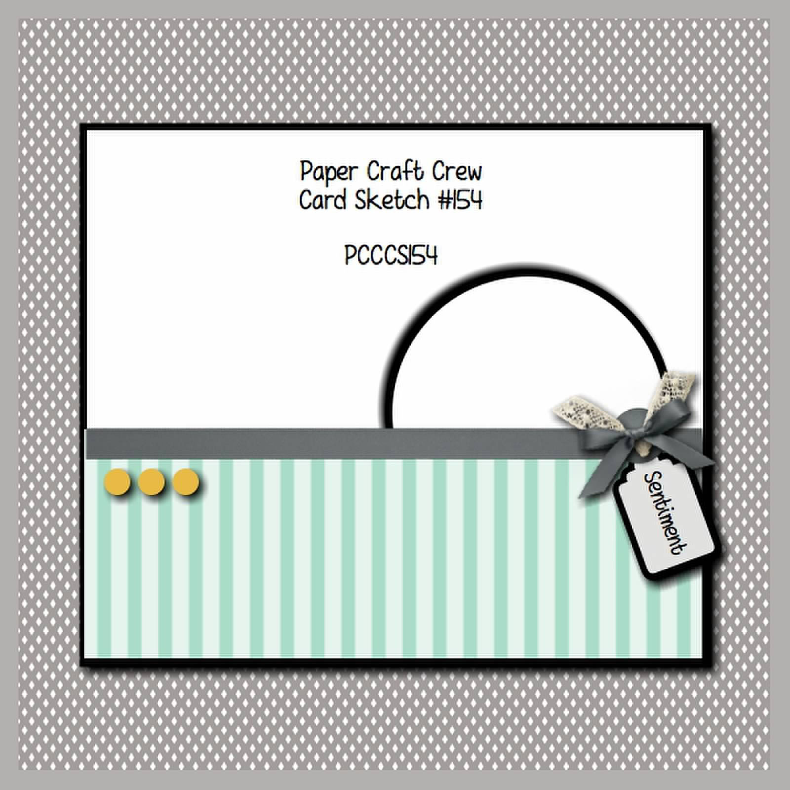 Masculine card with paper craft crew sketch 154 from stamping imperfectio