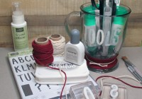 Stamping Imperfection Craft Storage - Tool Cup