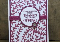 Stamping Imperfection Paper Craft Crew Tic Tac Toe Card Challenge
