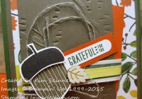 Acorny Greeting from Stamping Imperfection