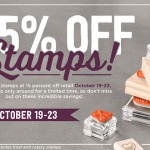 Stamp Sale!  Save 15%!!!
