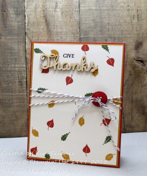 give_thanks with stamping imperfection