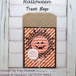 Handmade Halloween Treat Bags + Free Printable Project Sheet