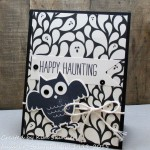 Handmade Halloween Greetings:  Happy Haunting