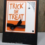 Create A Handmade Trick Or Treat Card!