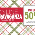 Online Extravaganza Flash Sale!  Save Up To 50%!