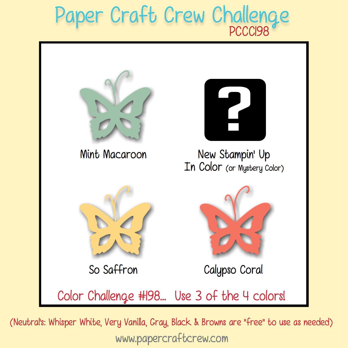 paper craft crew challenge