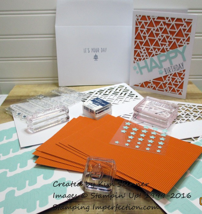 stamping imperfection my paper pumpkin