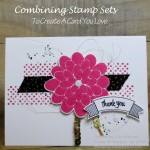 Combing Stamp Sets For A Card That You Love