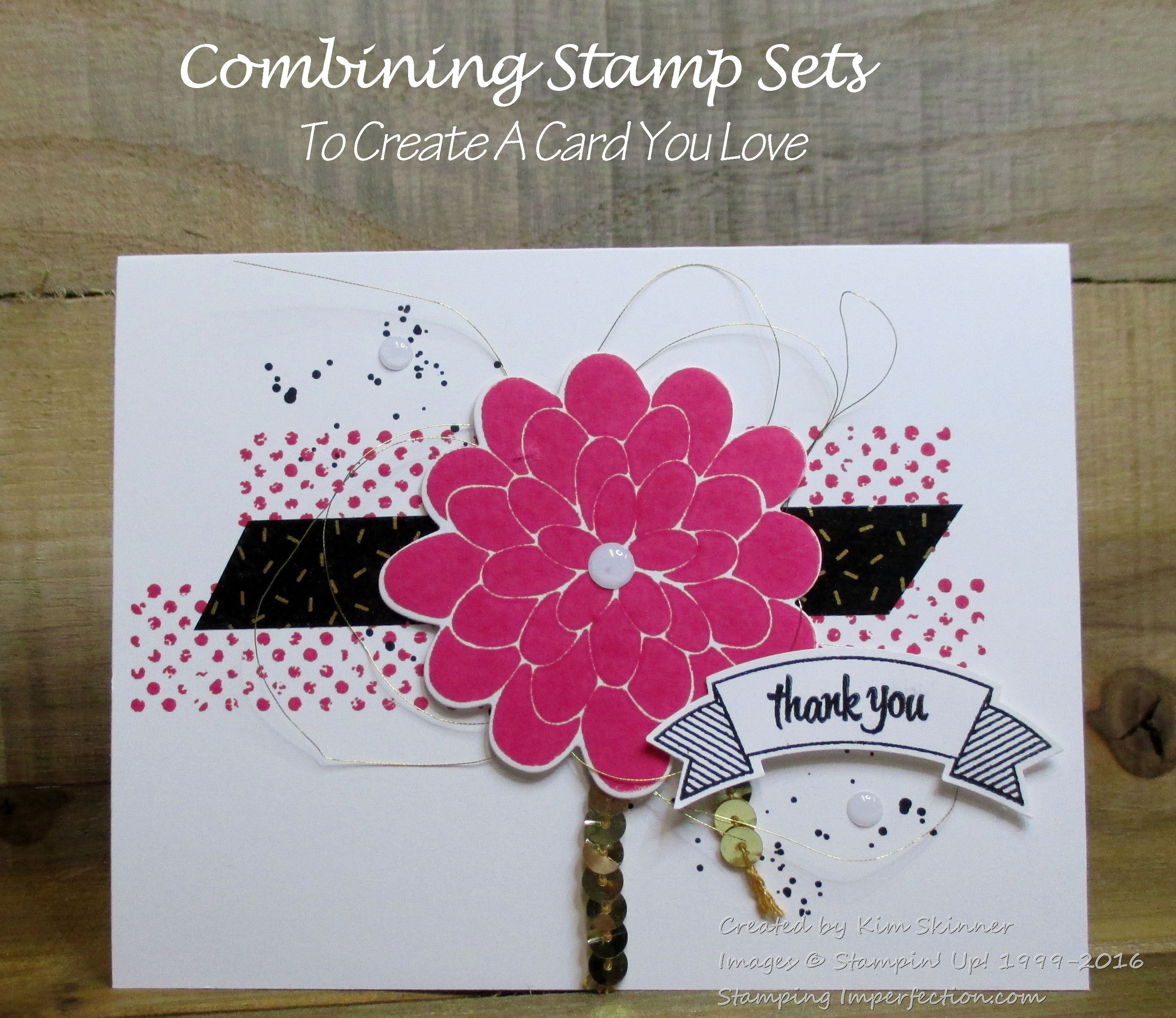 combining stamp sets