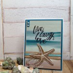 Serene Scenery Beach Inspired All Occasion Card