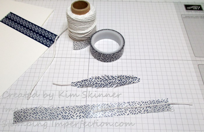 Creating a Washi Tape Feather