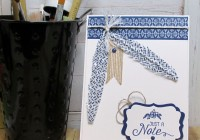 Stamping Imperfection Washi Tape Feather