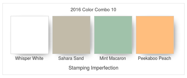 Stamping Imperfection 2016 Color Combo 10