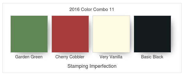 Stamping Imperfection 2016 Color Combo 11